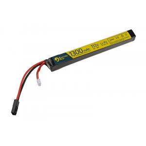 LiPo 11.1V 1300mAh 25/50C akumuliatorius