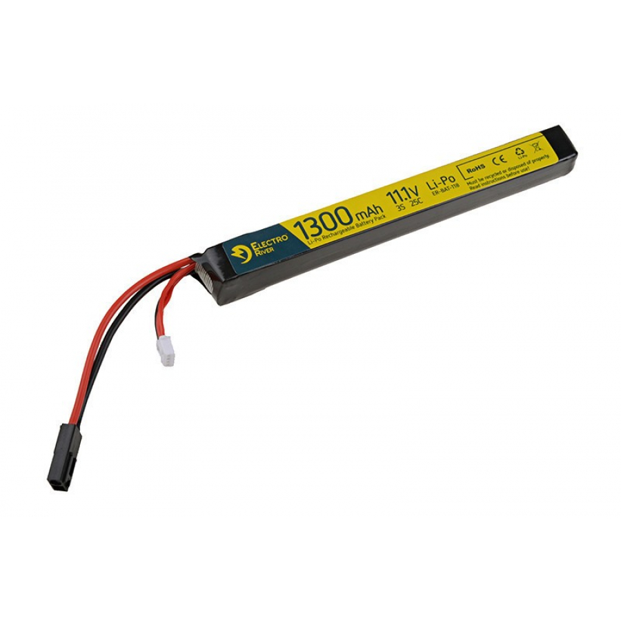 LiPo 11.1V 1300mAh 25/50C Battery