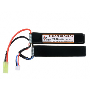 BATTERY LI-PO 2200MAH 7,4V 20C [IPOWER]