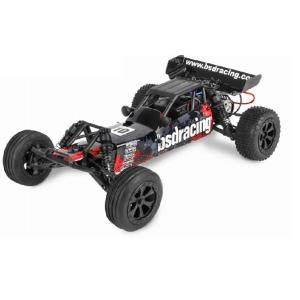 BSD Racing radijo bangomis valdoma mašinėlė Baja 1/10, 45km/h 2WD