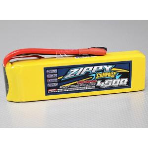 ZIPPY Compact 4500mAh 3S 35C Lipo Pack