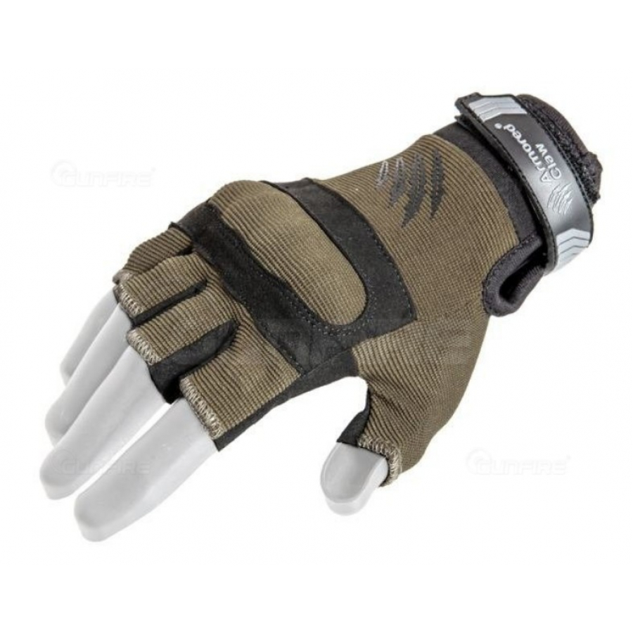 (L dydis) Armored Claw Shield Flex™ Cut Hot Weather tactical gloves - olive