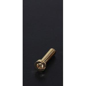 4mm Gold Connectors - Low Profile