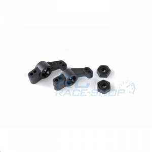Rear Hub Carriers + Hex Wheel-Adapter (each 2pcs) - S10 Blast TC