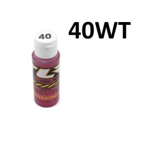 Team Losi Racing Silicone Shock Oil (2oz) (40wt)