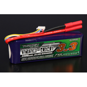 Turnigy nano-tech 3300mah 4S 25~50C Lipo Pack