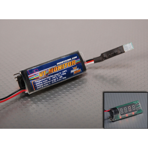 Hobby King Voltage & Temperature Monitor 2-6S (0-150C)