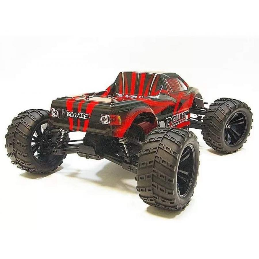 RC modelis Himoto Bowie 2.4GHz Off-Road Truck raudonas 31805