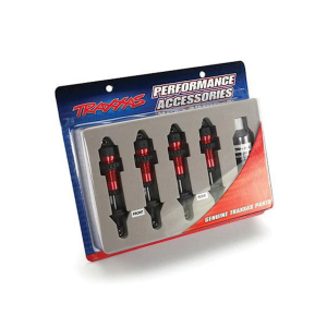 Traxxas Aluminum GTR Shock Set (Red) (4)