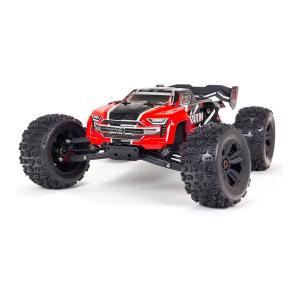 Arrma 1/8 Kraton 6S V5 BLX 4WD RTR Red rc automodelis