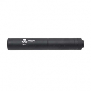 196MM DUMMY SILENCER - SKULL LOGO