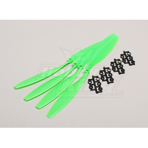 Slow Fly Electric Prop 12x4.5 SF (4 pc - Green)