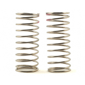 Tekno RC Low Frequency 57mm Front Shock Spring Set (Pink - 3.82lb/in)
