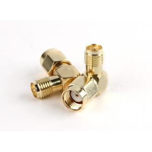 RP-SMA Jack < - > RP-SMA Plug 90 Degree Adapter