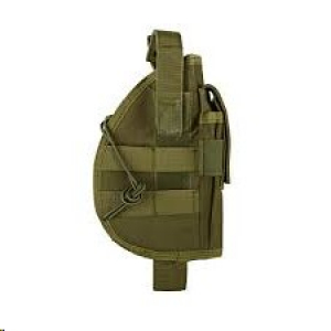 Universal holster with magazine pouch - olive