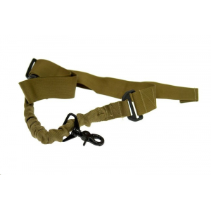 1-Point Tactical Sling - Bungee, coyote brown