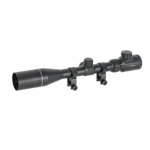 SCOPE 3-9X40E WITH HIGH MOUNTING RINGS [ACM]