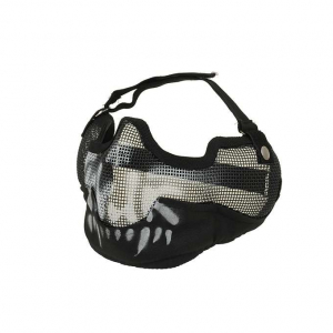 BIG STEEL PROTECTIVE MASK V.2 - BLACK SKULL [CS]