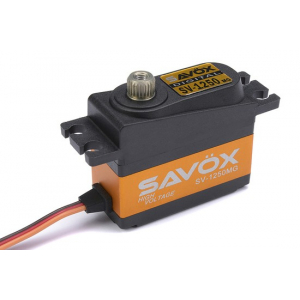 Savox - Servo - SV-1250MG - Digital - High Voltage - Coreless Motor - Metal Gear