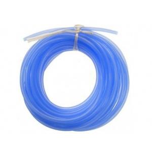 Silikoninė kuro žarnelė 2.5mm / 5.3mm 1m mėlyna