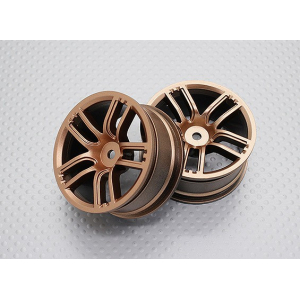 1:10 Scale High Quality Touring / Drift Wheels RC Car 12mm Hex (2pc) CR-GTG