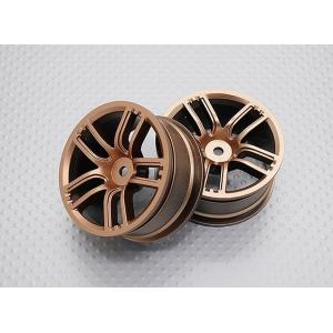1:10 Scale High Quality Touring / Drift Wheels RC Car 12mm Hex (2pc) CR-GTG