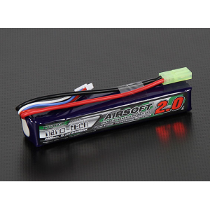 2000mah 3S 15~25C Airsoft Lipo akumuliatorius Turnigy nano-tech