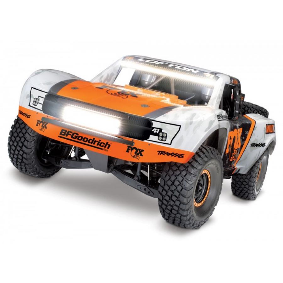 RC modelis Traxxas Unlimited Desert Racer 1:8 TQi - Fox