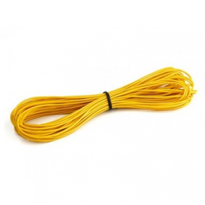 Turnigy High Quality 26AWG Silicone Wire 1m (Yellow)