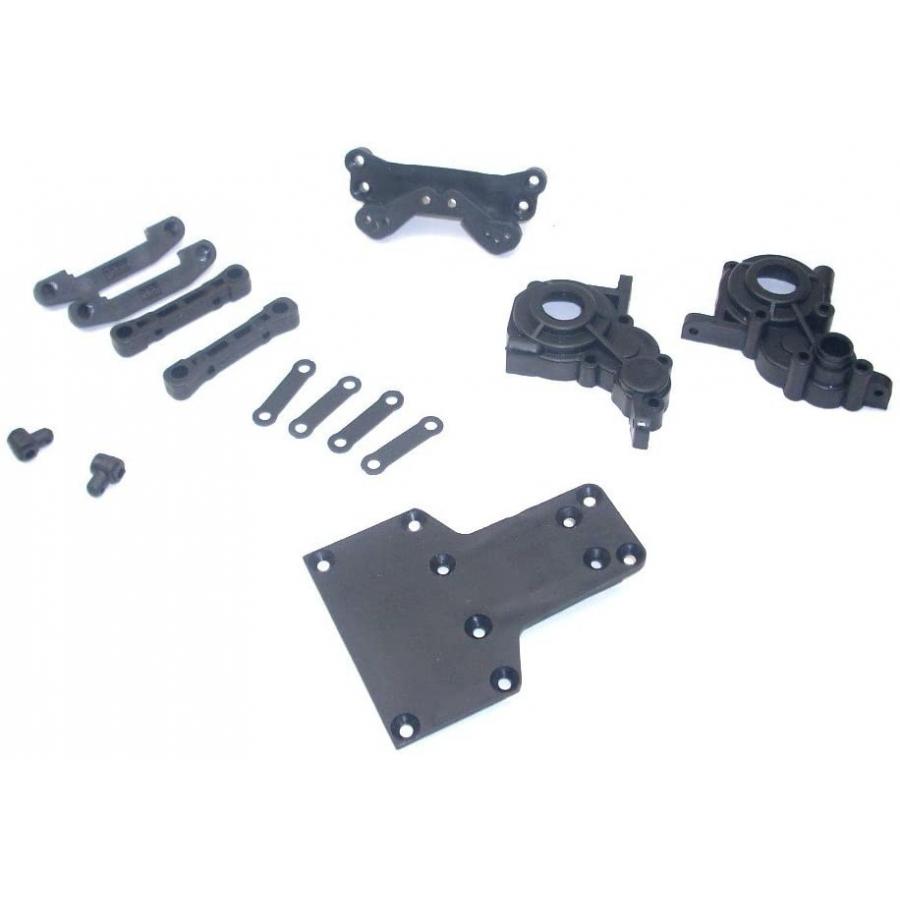 GEAR BOX - REAR SUSPENSION ARM HINGE PIN BRACES PLASTICS - S10 TWISTER