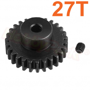Steel Metal 27T Motor Gear Pinion for WLtoys 144001 1/14 RC Car Upgrade Parts