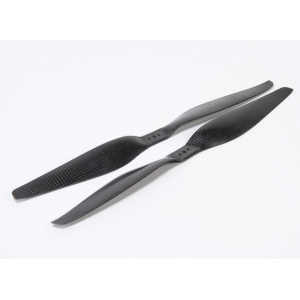 1355 Carbon Fiber Propellers CW and CCW Rotation with Dual Mountings (1pair)