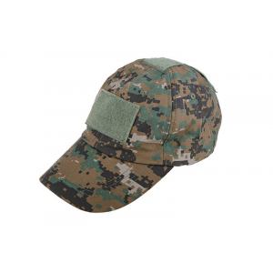 Tactical cap - digital woodland