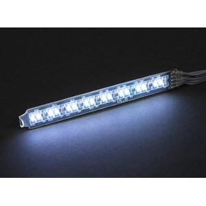 White LED Light Strip with 12 Flashing Modes & Remote Control