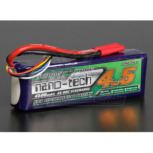Turnigy nano-tech 4500mah 4S 45~90C Lipo Pack