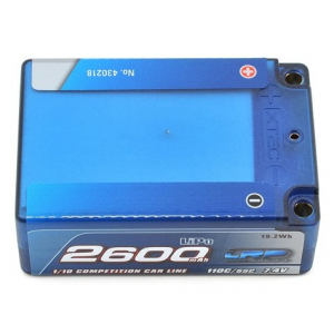 LRP Competition 2S LiPo 55C Hard Case Super Shorty Battery P...