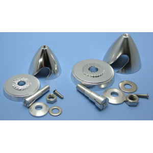 Alu E-Prop Spinners (with Alu Hub) D40×H37