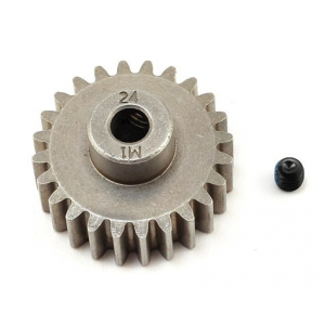 Traxxas Hardened Steel Mod 1.0 Pinion (24T) Gear w/5mm Bore