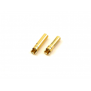 Polymax 4mm Gold Connectors