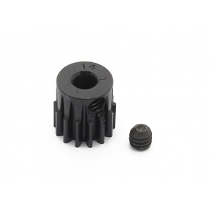 48 Pitch 14T Robinson Racing Black Anodized Aluminum Pinion Gear