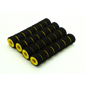Multi-Rotor Shock Absorbing Foam Skid Collars Yellow/Black (108x23x10mm) (4pcs)