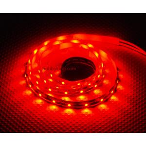 Turnigy lanksti tankiai išsidėsčiusių švieselių juostelė su 60 LED/m.
