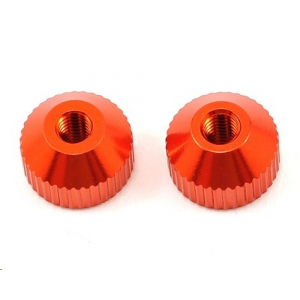 HB Racing M3 Thumb Screw (Orange) (2)