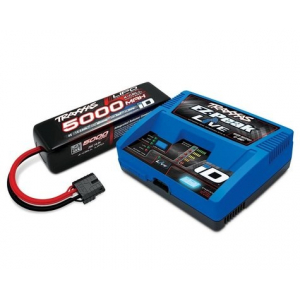 """Traxxas EZ-Peak Live 4S """"Completer Pack"""" akumuliatorių pakrovėjas su vieno maitinimo elemento baterija (5000mAh)"""