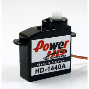 PowerHD 4.4g/0.6kg/ .10sec High Performance Micro Servo HD-1440A