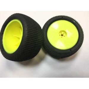 Pro-Line Hole Shot galinės bagio padangos suklijuotos su HB ratlankiais
