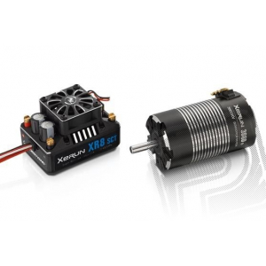 COMBO XR8 SCT + XERUN 3660 SD 3600Kv - G2 - black - incl. 23T/48DP Pinion
