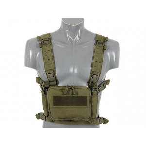 COMPACT MULTI-MISSION CHEST RIG - OLIVE [8FIELDS]