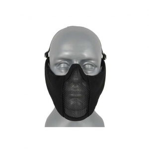 HALF FACE PROTECTIVE MESH MASK 3.0 - BLACK [CS]