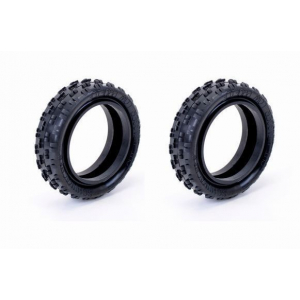 Schumacher U6770 - Cut Stagger - 2WD Front Tires - Low Profile (2 pcs)